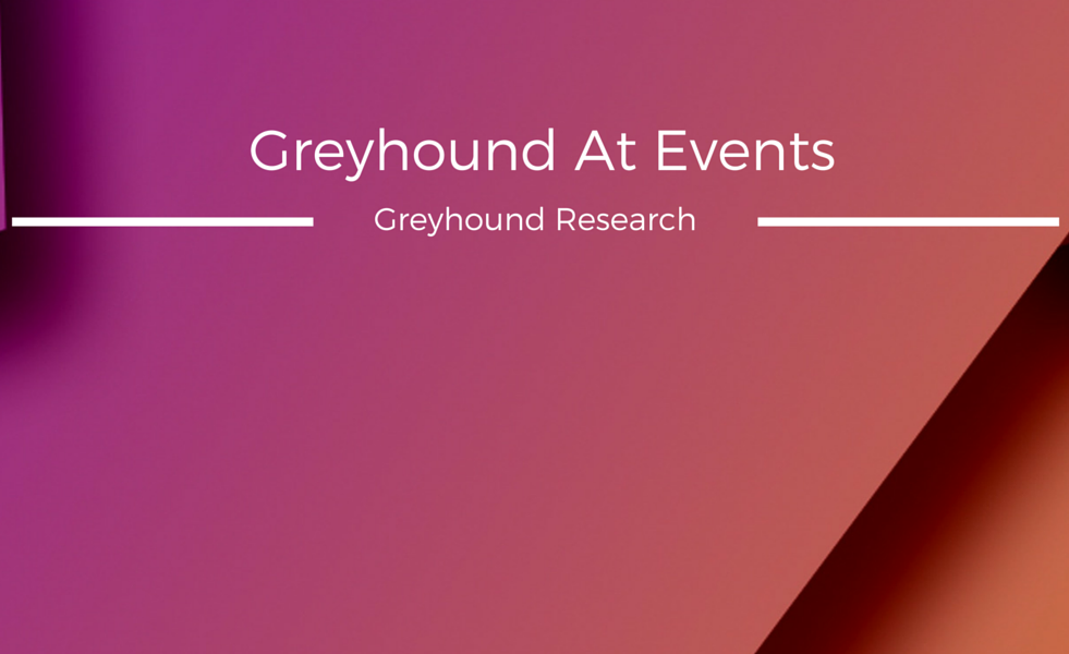 Meet Greyhound At Events: Forums Where You Can Find Our Analysts