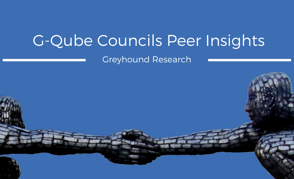 Read G-Qube Councils Peer Insights: Real-life Perspectives